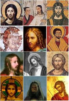No one knows how Jesus looked like, so different cultures depict him in different ways, but I'm pretty sure he didn't look like a European hippie.